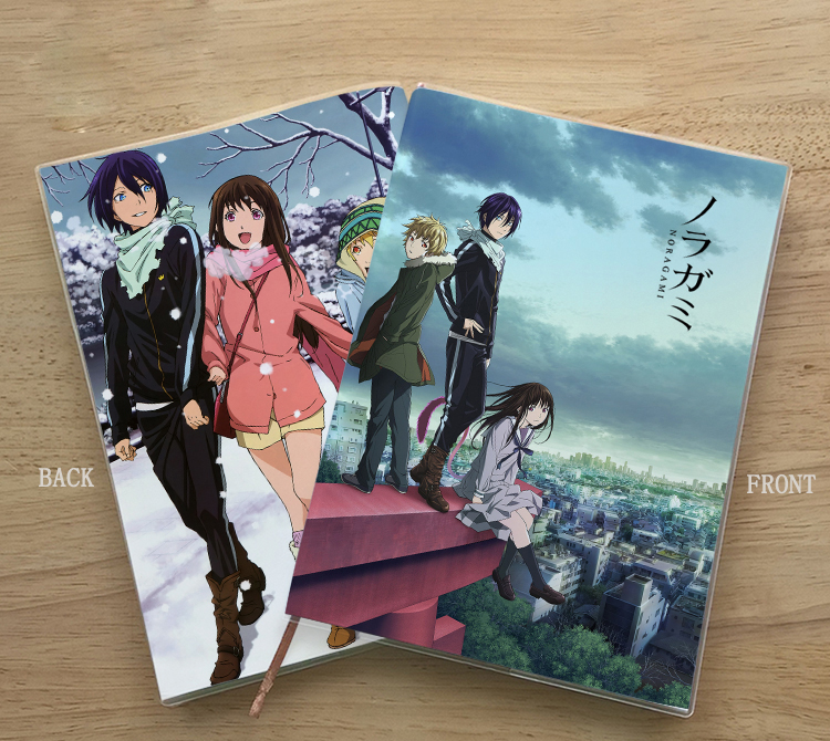 Anime Noragami Iki Hiyori Yukine YATO Cosplay Student Notebook Eye Protection Diary Notepad Memorandum Commemorate Gift