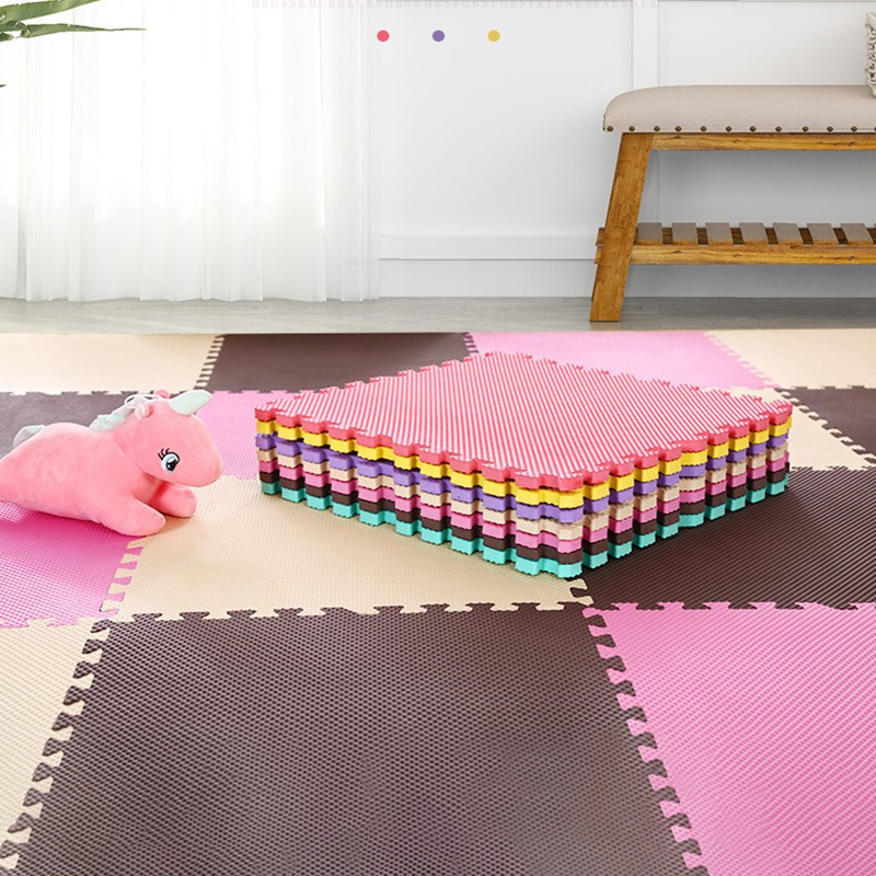10/18/24 Pcs/Lot Baby EVA Foam Play Puzzle Mat Interlocking Exercise Tiles Floor Carpet And Rug For Kids Pad For Baby Games