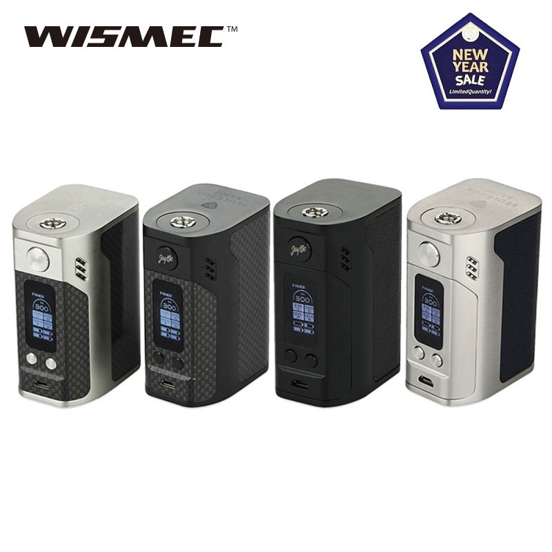 Original 300W Wismec Reuleaux RX300 TC Mod Box Power 18650 Battery Box Vape Mod Huge Power Vs Drag 2/ Gen Mod/ Shogun/ Swag 2