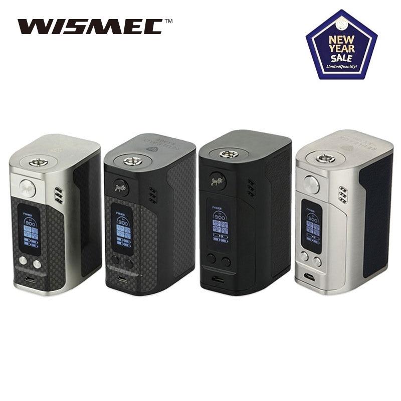 Original 300W Wismec Reuleaux RX300 TC Mod Box Power 18650 Battery Box Vape Mod Huge Power Vs Drag 2/ Gen Mod/ Shogun/ Swag 2