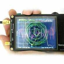NanoVNA VNA 2.8Inches LCD HF VHF UHF UV Vector Network Analyzer 50KHz-900MHz Antenna Analyzer Built-in Battery цена и фото