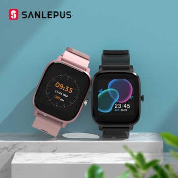 SANLEPUS versión Global Smart Watch 7 modos de deporte IP67 impermeable Bluetooth Smartwatch con Monitor de ritmo cardíaco hombres mujeres Smart Band