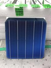 100Pcs 5.3W 156.75*156.75MM מונו פוטו פנל סולארי תא כיתה יעילות גבוהה עבור DIY Monocrystalline הסיליקון פנל