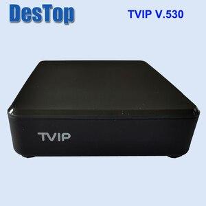 Image 4 - 5pcs המקורי TVIP 530 S905W 1G 8G לינוקס טלוויזיה תיבת I P T V הזרמת תיבת I P T V טלוויזיה תיבת תמיכה protal TVIP v530