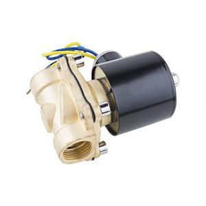 "Image 3 - 1/2 ""3/4"" נמוך לחץ 10bar פליז מים גז סולנואיד שסתום 24VAC 110VAC 12VDC EPDM חותם"