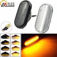 Tuần Tự Nhấp Nháy LED Nhan Bên Cột Mốc Sáng Dành Cho Xe Nissan Xterra Versa Livina Qashqai J10 Thiết Giáp Pathfinder R51 NP300