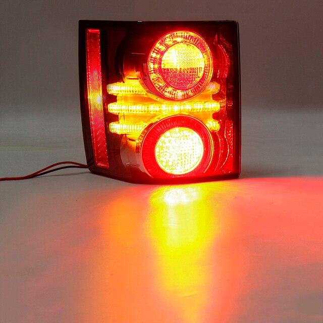 1 paire LED feu arrière feu stop lampe avec ampoule pour Land Rover Range Rover 2010 2011 2012 voiture style remplacement