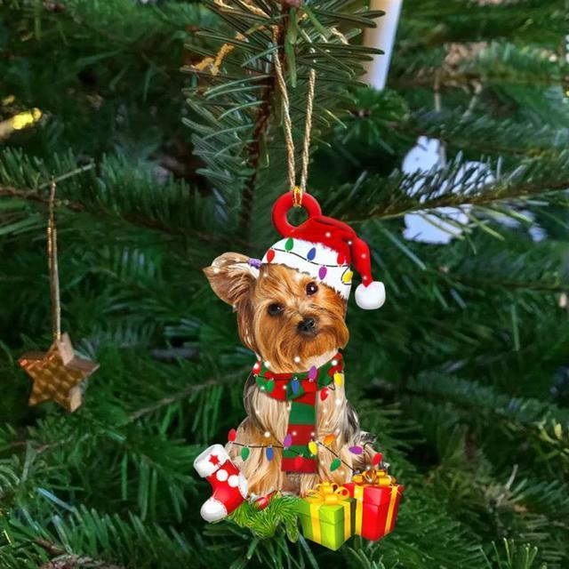 Dog Decoration Christmas Tree  1
