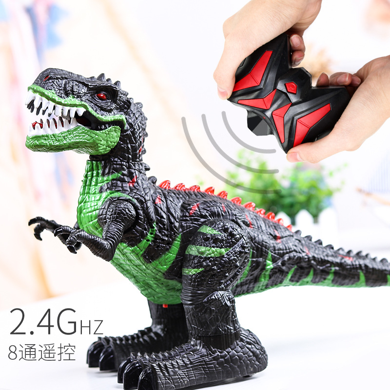 Dinosaur Toy Children Electric Animal Model Remote Control T-Rex Extra-large No. Will Walk Of Toy Boy