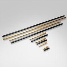 1 м длинная золотая ручка алюминиевая черная для мебели шкаф