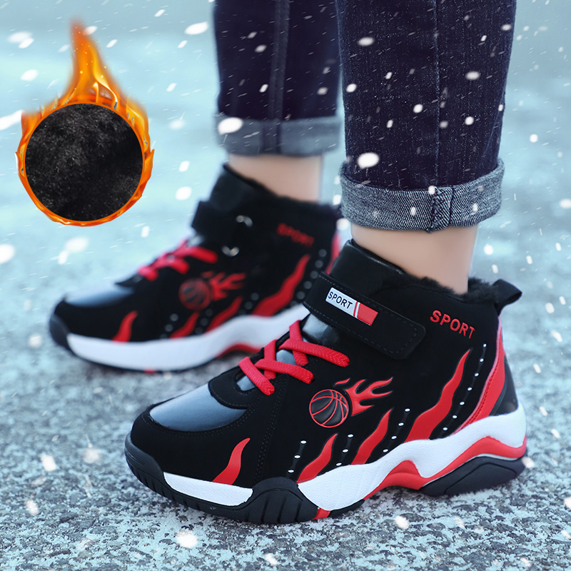 Kids Shoes Boy Sneakers Boy Basketball Shoes Baby Shoes Boys Shoes Sport Boots Outdoor Shoes Big Kid Sneakers Winter Boys Shoes