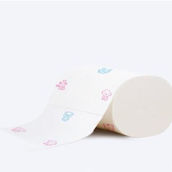 1 rolka 5 warstw wygodny papier toaletowy do domu papier toaletowy bezrdzeniowy papier toaletowy papier toaletowy papier toaletowy papier toaletowy tanie i dobre opinie JCSYFAC 3 ply Recyklingu pulpy