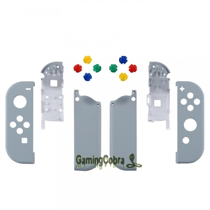 Image 2 - New Hope Gray Soft Touch Controller Housing With Colorful Buttons Replacement Shell with Tools for NS Switch Joy Con