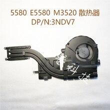 Оригинальный радиатор охлаждения вентилятора для Dell Latitude 5580 E5580 M3520 3NDV7 03NDV7
