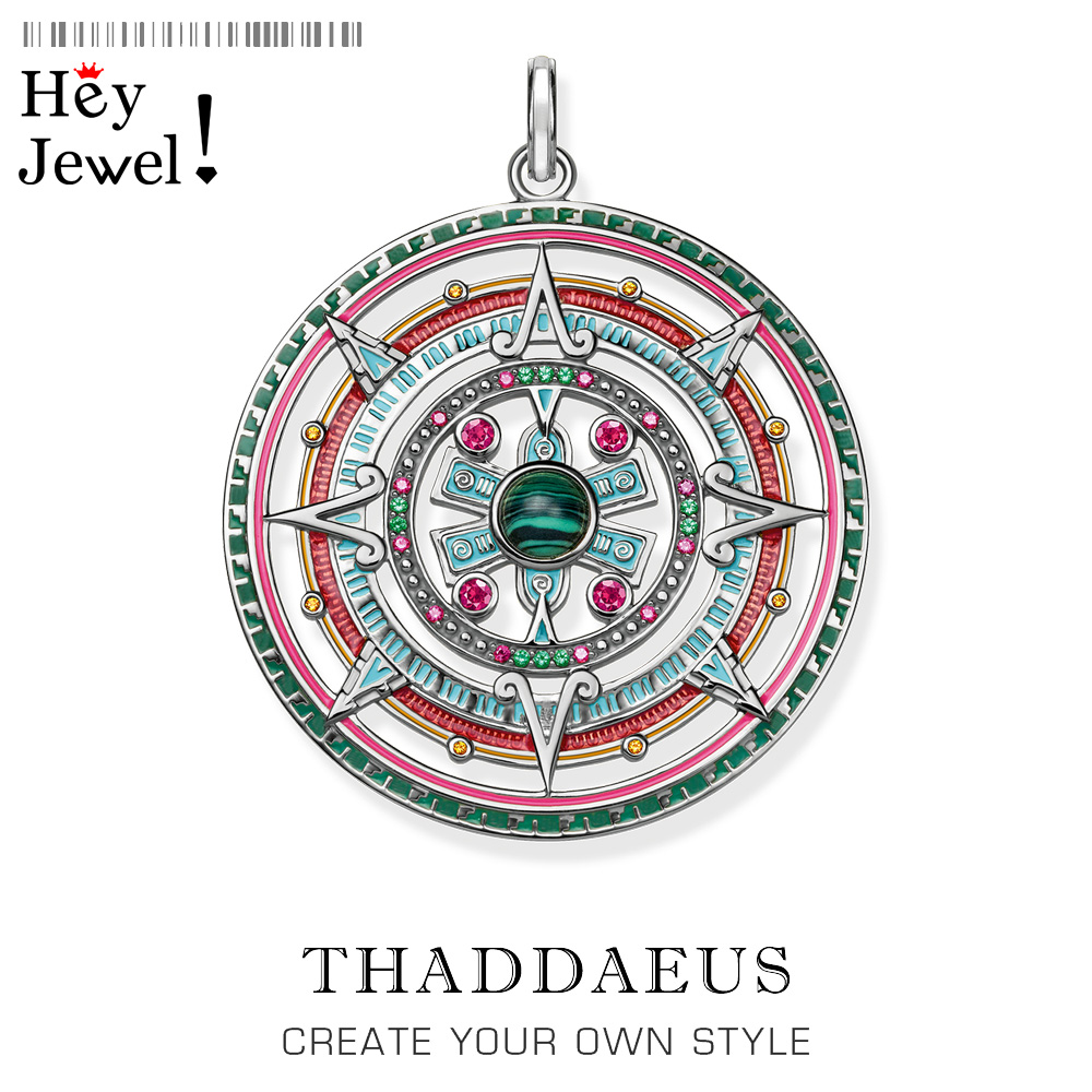 Pendant Magic Amulet,2020 Brand New Bohemia Fashion Jewelry Thomas Bijoux 925 Sterling Silver Mythical Aztec Gift For Ts Woman
