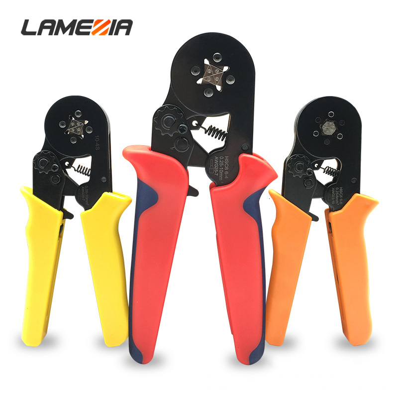 FSC-2550GF Cable End-sleeves Wire Crimping Plier Crimper 25,35,50mm2 AWG 4-1