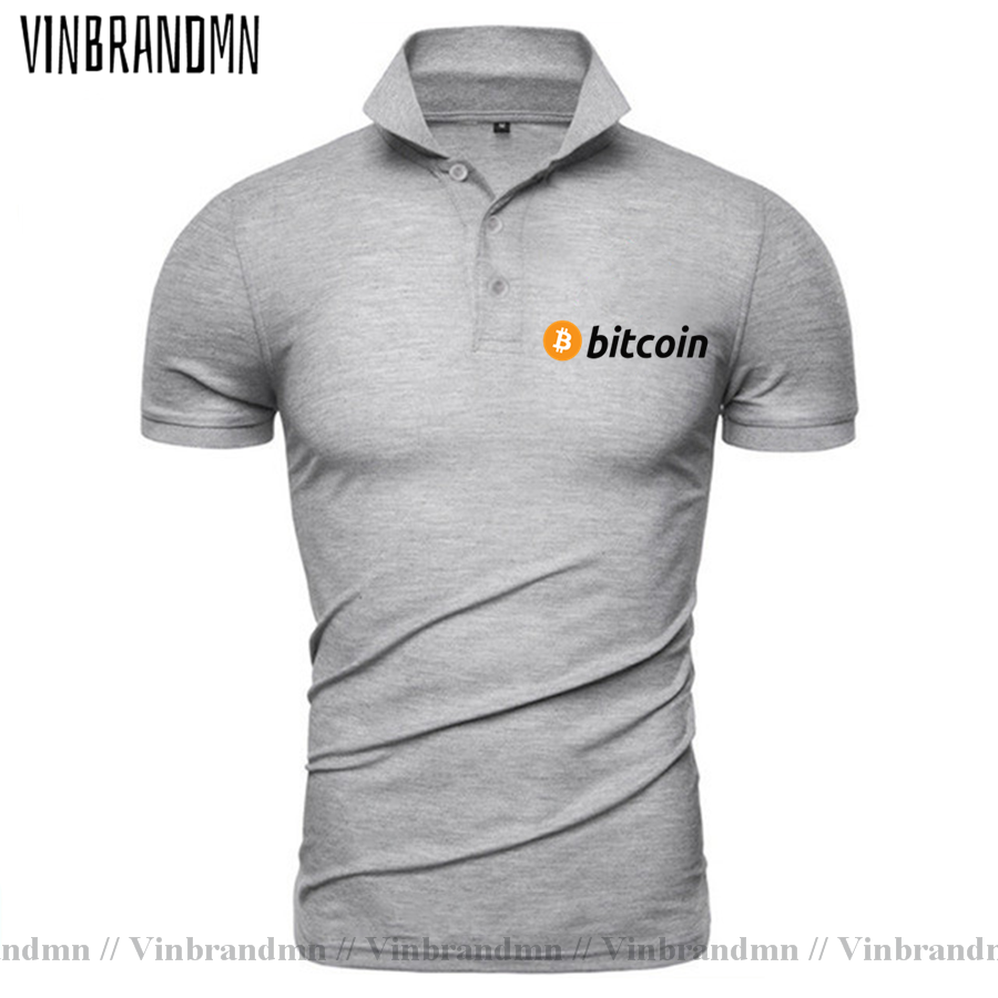 2021 Bitcoin HODL Your Cryptos Cryptocurrency Funny Polo shirt for Men Short Sleeves Clothes New Arrival Tee Shirt 100% Cotton 4