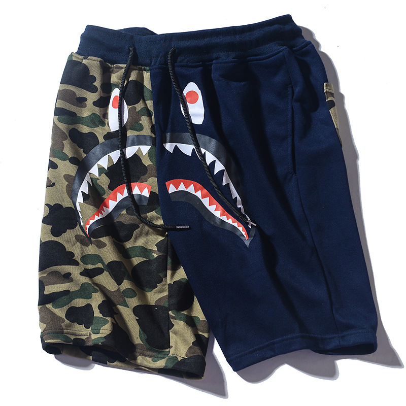 Summer Men Hip Hop Camouflage Pants Casual Pants Sports Trend Shorts Korean-style Shorts