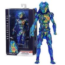 Em estoque 18cm neca predator figura visão térmica fugitivo predador figura de ação collectable modelo brinquedo boneca presente 7 polegada