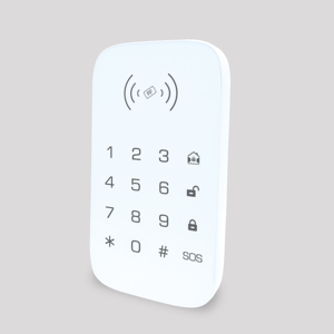 Image 5 - Teclado inalámbrico para sistema de seguridad de casa inteligente teclado de extensión para alarma de incendio antirrobo panel de control host compatible con etiqueta para llave RFID