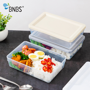 1400ml Lunch Box Food Bento Container For Rice And Cereals Plastic Children's School Lunch Box Snack Tiffin Boxes Japanese Style