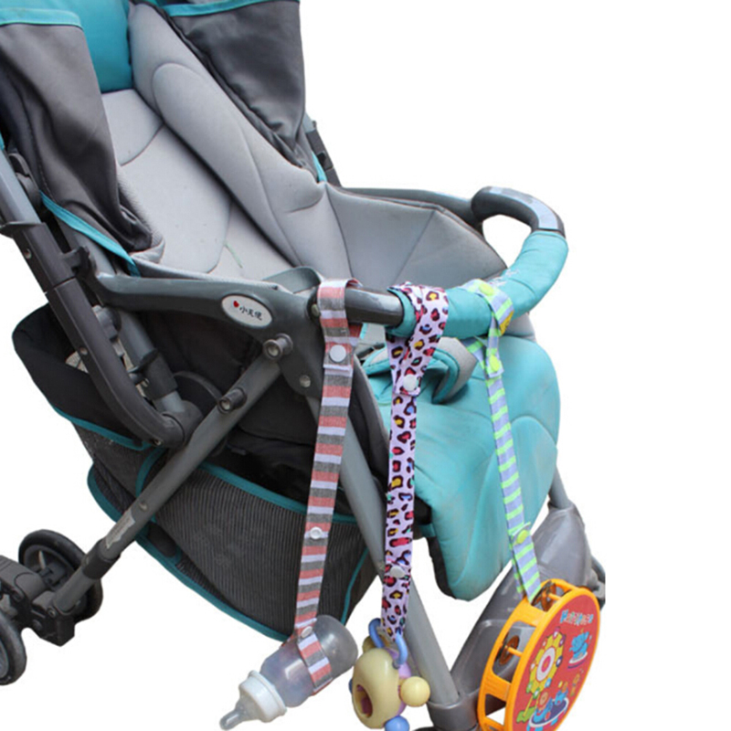 Fixed Toys Rope No Drop Baby Bottle Toy Cup Holder Strap For Stroller