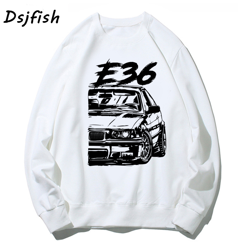 Hoodies Men Cool Automotive Racing Car Turbo E30 E36 E46 Sweatshirts For Unisex Basic Vintage Hoodie Streetwear Sudadera Mujer