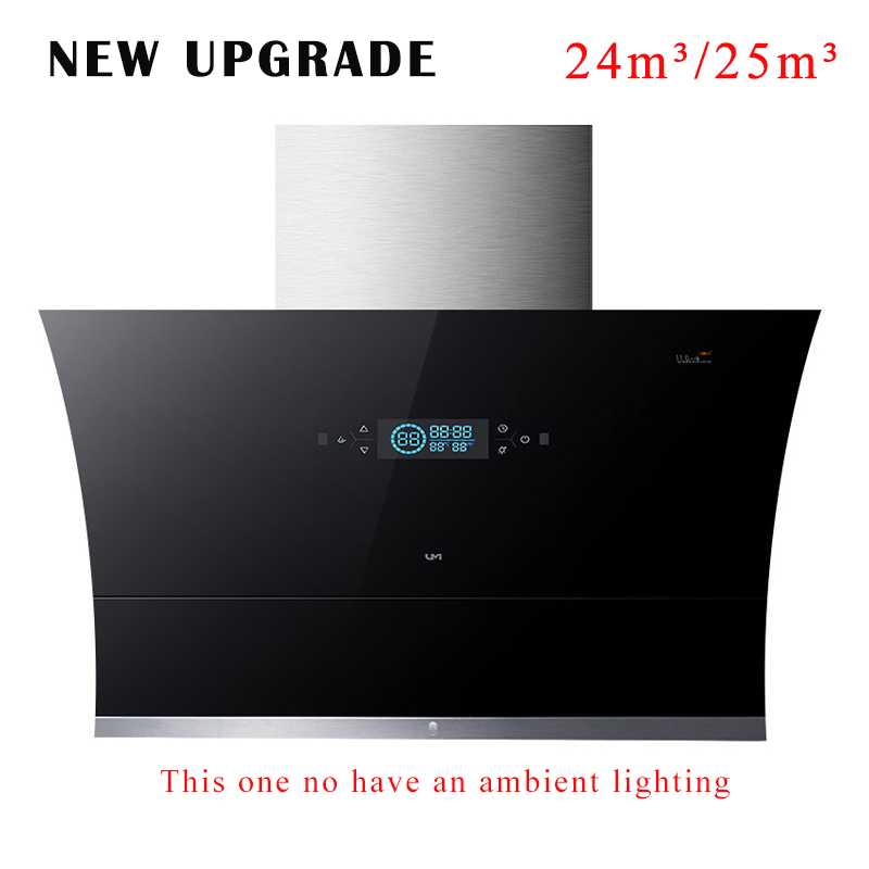 Kitchen Ventilator Domestic Range Hood 900mm 22/24/25m³ Big Suction Household Extractor Hood New Upgrade