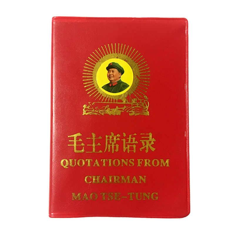 Le citazioni del Presidente Mao Tse-Tung il Piccolo Libro Rosso Cinese/Inglese libri per adulti