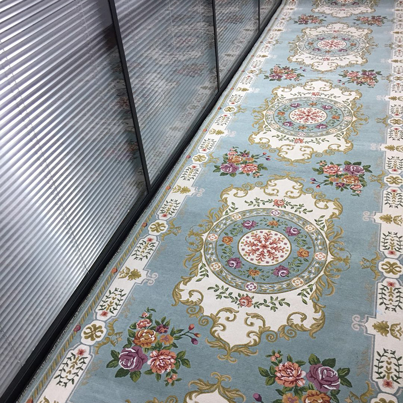 European Pastoral Hallway Carpets Jacquard Modern Stair Carpet Hotel Aisle Corridor Long Rugs Wedding Party Red Carpets|Carpet| |  - title=