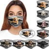 Geral cães imprime respirável lavável máscara rosto filtro de cobertura pode ser colocado reutilizável boca capa tecido máscaras mascarilla d55 1