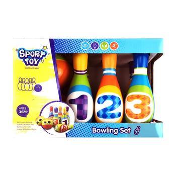Rompecabezas de Protección Ambiental, juguetes recreativos y deportivos digitales, 8 Uds., juego de bolos de PU, Bicicleta estática