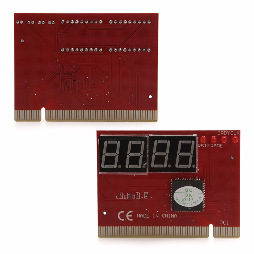 New Computer PCI POST Card Motherboard LED 4-Digit Diagnostic Test PC Analyzer High Quality 5