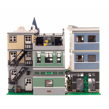 Street View Series Assembly Square 10255 15019 In Stock Building Blocks 4000+Pcs Creator 30019 84019 99007 Bricks Toys
