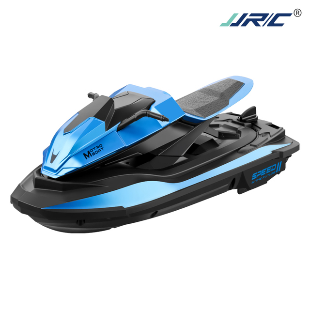 Hipac JJRC S9 1/14 2.4G RC Boat 20Mins 40M Motorboat Remote Control Boat Motorcycle Double Motor Two Speed Outdoor Toys for Boys