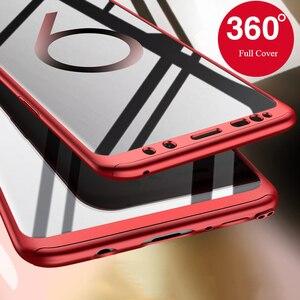 360 Полное покрытие чехлы для телефонов Samsung Galaxy J3 J5 2016 J7 Pro 2017 J310 S8 S9 S10 S20 Plus S6 S7 edge чехол с закаленным стеклом