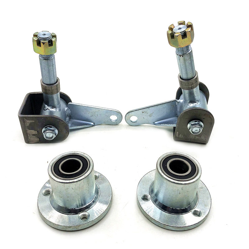 5 Inch Wheel Knuckle Spindle With Wheel Hub Fit For DIY China 110cc 168 200F Go Kart Buggy Karting ATV UTV Quad Bike Parts
