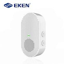 2021 EKEN AC 90V-250V 52 Chimes 110dB Wireless Doorbell Receiver Ding Dong Wifi Doorbell Camera Low Power Consumption Home Door