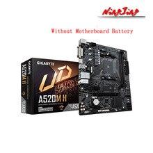 Gigabyte GA A520M H Micro ATX AMD A520 DDR4 M.2 USB3.2 stato 3.0 SSD/nuovo/64G miglior supporto R9 desktop CPU Socket scheda madre AM4