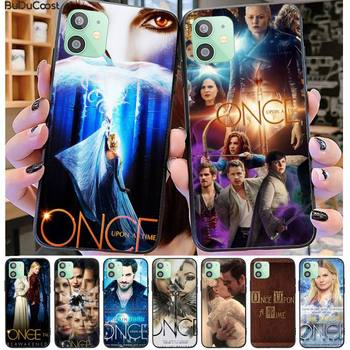 Once Upon A Time Hard Phone Case Black TPU For iphone 12 pro max 11 pro XS MAX 8 7 6 6S Plus X 5 5S SE 2020 XR case image