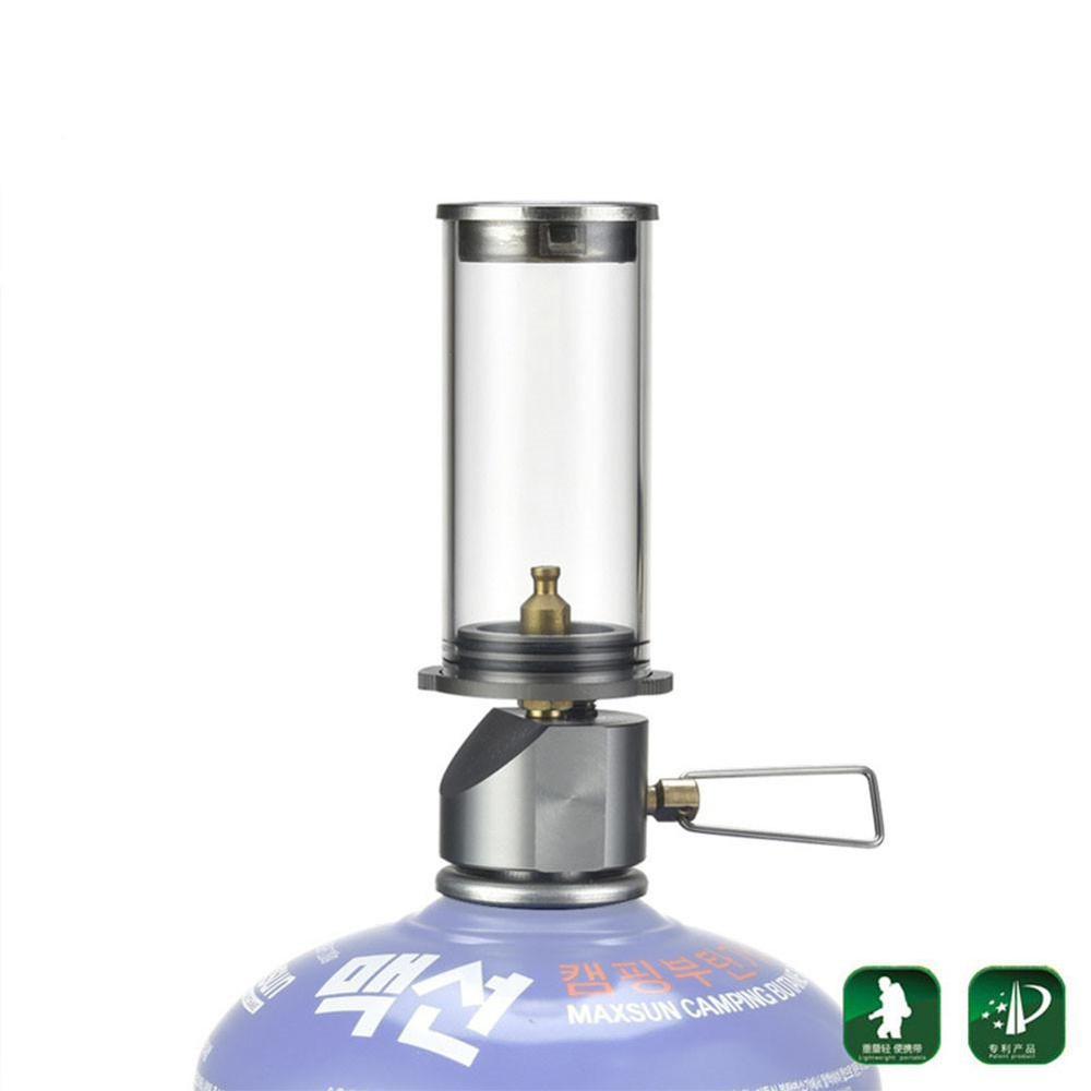 HobbyLane  Outdoor Camping Lamp Portable Gas Lamp Tourist The Tent Night Lights Camping Gas Lantern Plastic Storage Box
