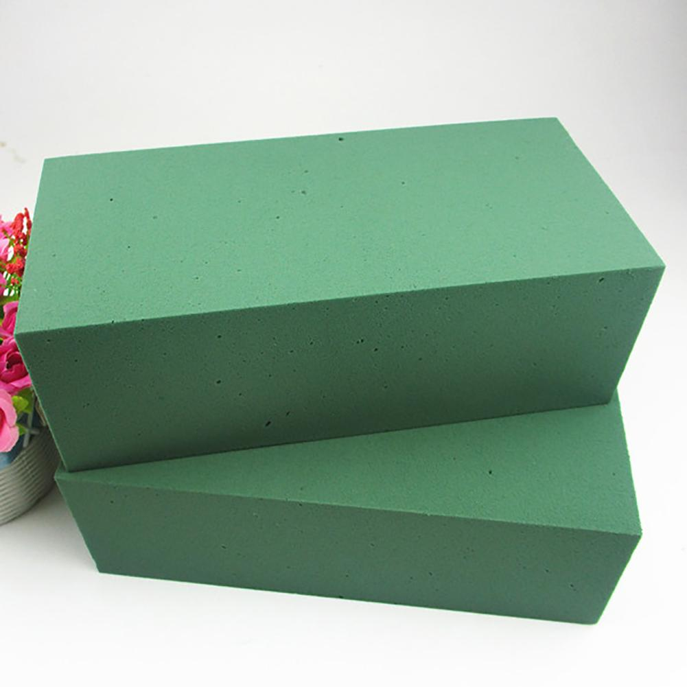 Floral Foam Block Flower Styrofoam Bricks Dry Or Wet DIY Craft Toys Artificial Flower Holder Prop For Wedding Florist Decoration