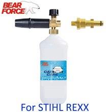 Generator pianki pianka śnieżna lanca dysza pianowa myjnia samochodowa pianka spieniacz mydła wysokociśnieniowy spieniacz do spokoju STIHL RE sink myjka ciśnieniowa