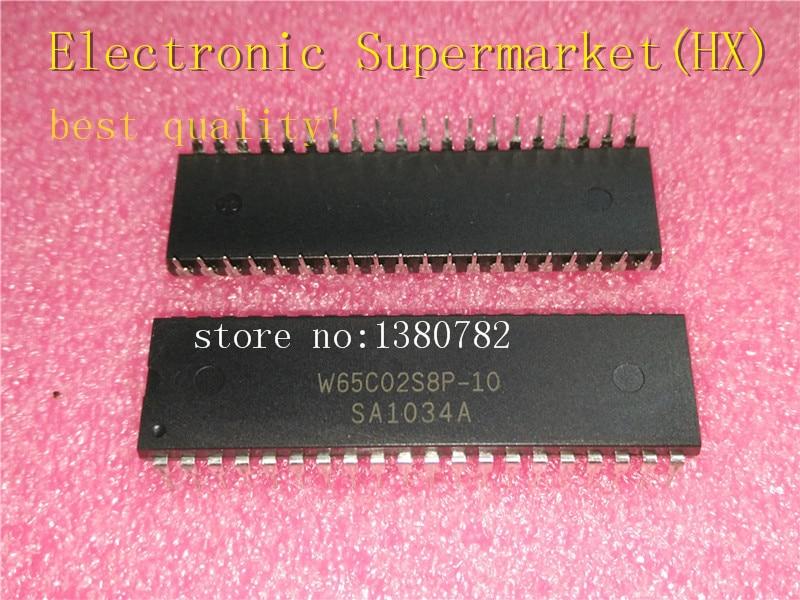 Free Shipping 10pcs/lots W65C02S8P-10 W65C02S8P W65C02 DIP-40 IC In Stock!