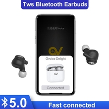 купить New TWS earbuds Bluetooth 5.0  Cordless Wireless Earphone Stereo in ear Bluetooth Waterproof Mini Wireless ear buds Earphone дешево
