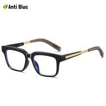 Jackjad 2021 elegante estilo quadrado do vintage anti azul simples óculos de design da marca óculos ópticos quadro óculos de grau