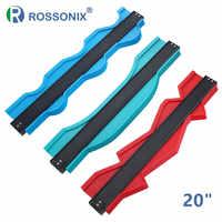 Rossonix Contour Gauge 20 inch Outline Gauge Edge Shape Marking Tool Tiling Auto Contour Duplication Plastic Profile Copy Gauge