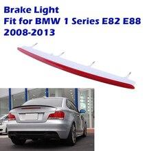 Третий Задний светодиодный стоп светильник сигнал, сигнальная лампа заднего багажника в сборе подходит для BMW 1 серии 128i 135i E82 E88 2008-2013, автомо...