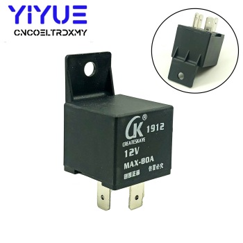 цена на 4 Pin MAX-80A Waterproof Car Relay Long Life Automotive Relays CK Normally Open DC 12V Relay for Head Light