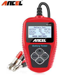 Image 1 - Ancel BA101 12V Car Battery Tester 100 2000CCA Digital Analyzer tester auto battery load tester for Car/Boat/Motorcycle PK KW600